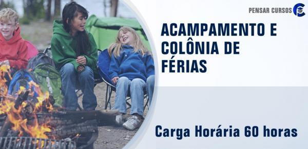 Saiba mais sobre o curso Acampamento e Colônia de Férias