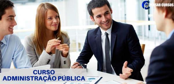 Saiba mais sobre o curso Administração Pública