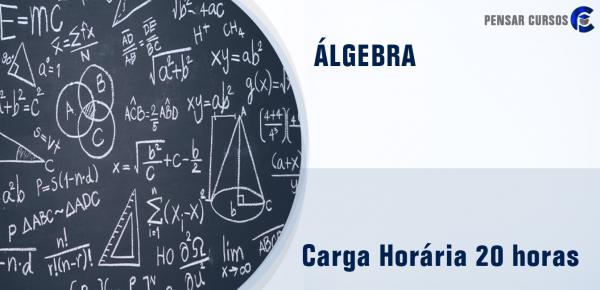 Saiba mais sobre o curso Álgebra