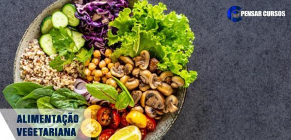 Saiba mais sobre o curso Alimentação Vegetariana