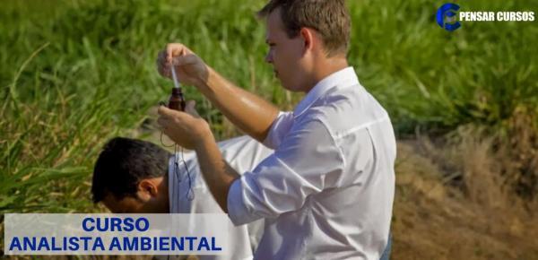 Saiba mais sobre o curso Analista Ambiental