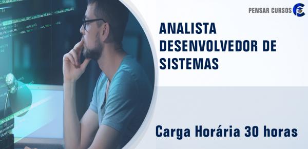 Saiba mais sobre o curso Analista Desenvolvedor de Sistemas