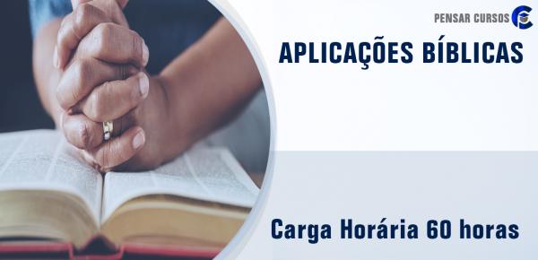 Saiba mais sobre o curso Aplicações Bíblicas