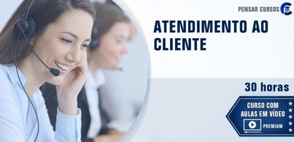 Saiba mais sobre o curso Atendimento ao Cliente