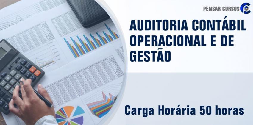 Auditoria Contábil Operacional e de Gestão