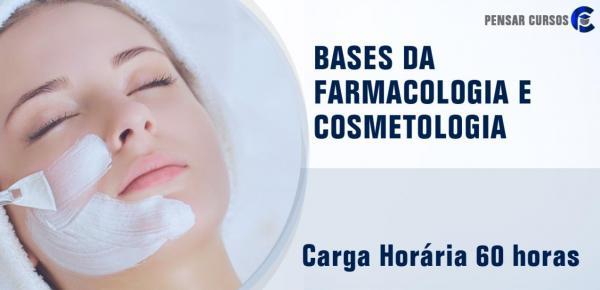 Saiba mais sobre o curso Bases da Farmacologia e Cosmetologia