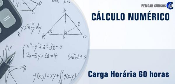 Saiba mais sobre o curso Cálculo Numérico