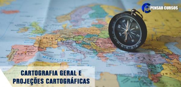 Saiba mais sobre o curso Cartografia Geral e Projeções Cartográficas