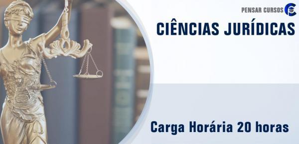 Saiba mais sobre o curso Ciências Jurídicas