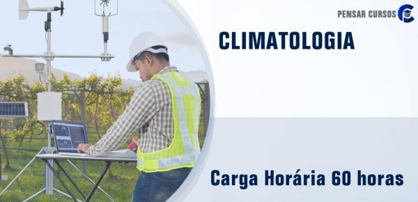 Saiba mais sobre o curso Climatologia