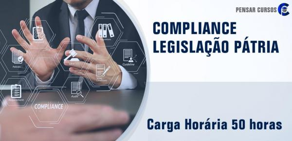 Saiba mais sobre o curso Compliance – Legislação Pátria