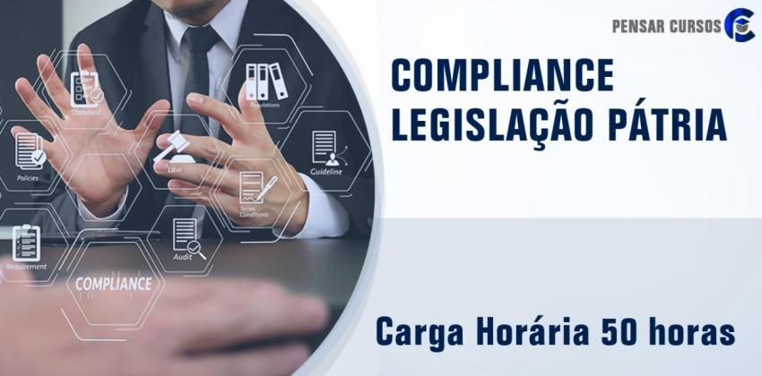 Compliance – Legislação Pátria