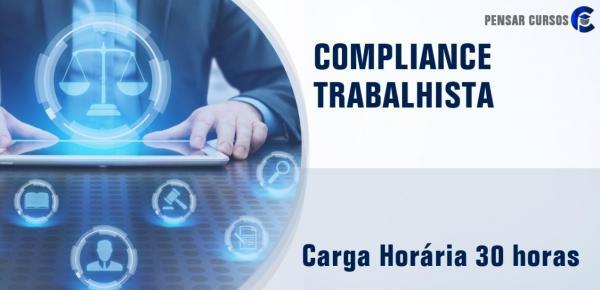 Saiba mais sobre o curso Compliance Trabalhista