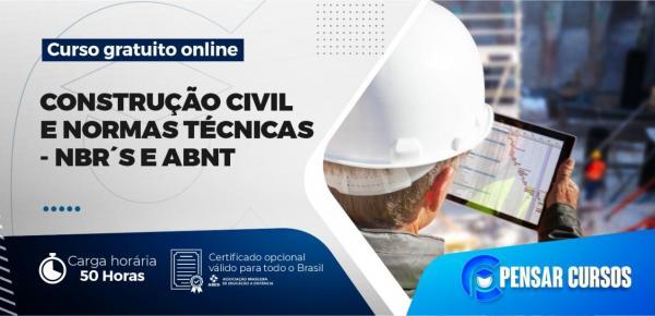 Saiba mais sobre o curso Construção Civil e Normas Técnicas: NBR E ABNT