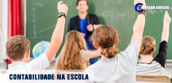 Saiba mais sobre o curso Contabilidade na Escola