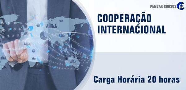Saiba mais sobre o curso Cooperação Internacional