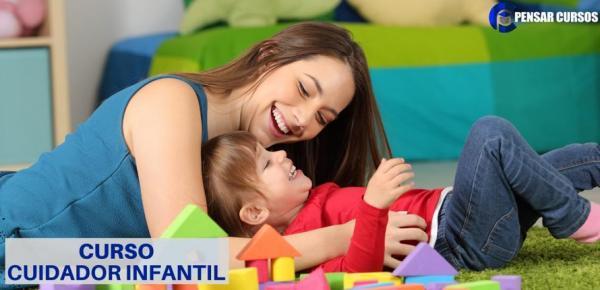 Saiba mais sobre o curso Cuidador Infantil