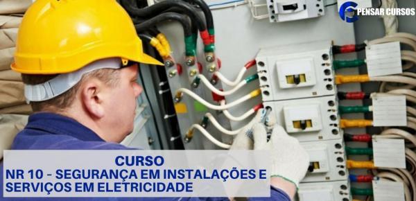 Saiba mais sobre o curso NR10 - Segurança em serviços de eletricidade
