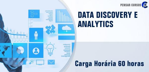 Saiba mais sobre o curso Data Discovery e Analytics