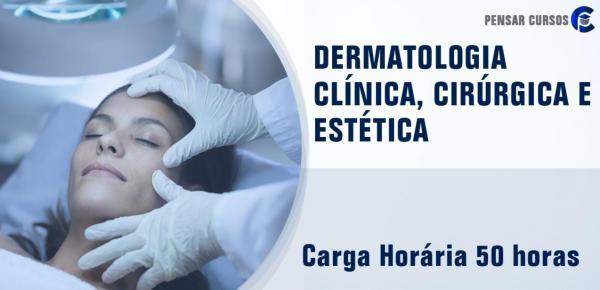 Saiba mais sobre o curso Dermatologia: clínica cirúrgica e estética