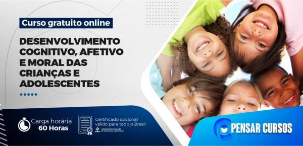 Saiba mais sobre o curso Desenvolvimento Cognitivo Afetivo e Moral das Crianças e Adolescentes