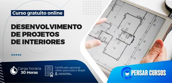 Saiba mais sobre o curso Desenvolvimento de Projeto de Interiores
