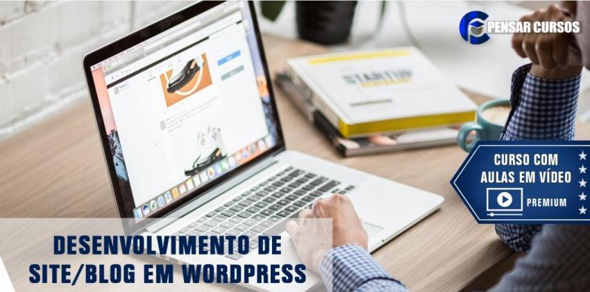 Desenvolvimento de Site/Blog em Wordpress