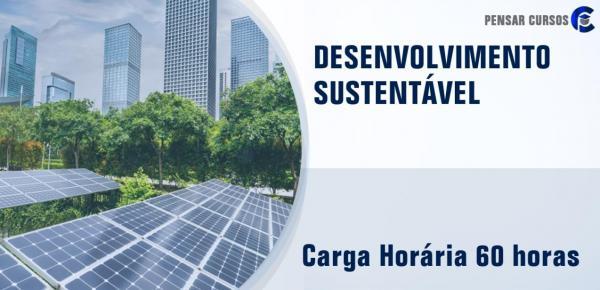 Saiba mais sobre o curso Desenvolvimento Sustentável