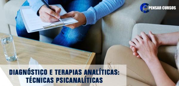 Saiba mais sobre o curso Diagnóstico e Terapias Analíticas: Técnicas Psicanalíticas