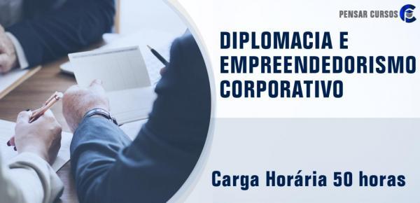 Saiba mais sobre o curso Diplomacia e Empreendedorismo Corporativo