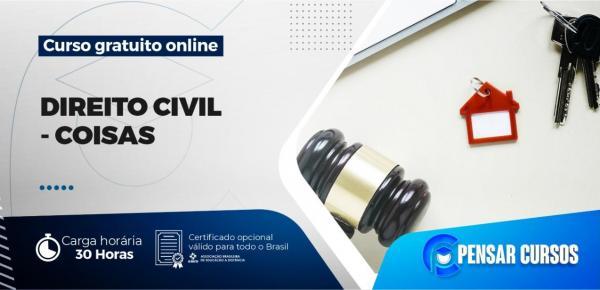 Saiba mais sobre o curso Direito Civil – Coisas