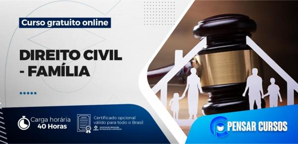 Saiba mais sobre o curso Direito Civil - Família
