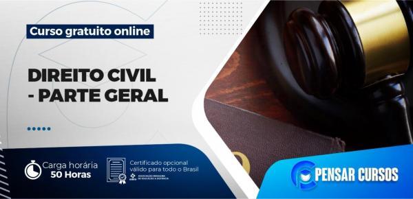 Saiba mais sobre o curso Direito Civil - Parte Geral