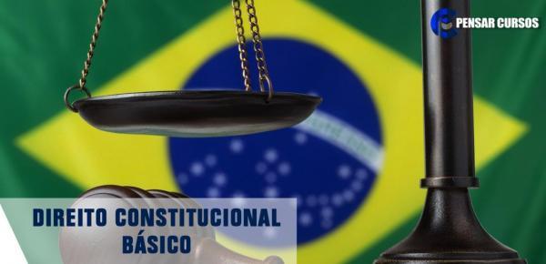 Saiba mais sobre o curso Direito Constitucional Básico
