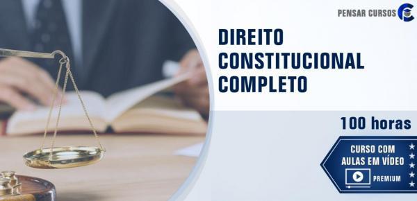 Saiba mais sobre o curso Direito Constitucional Completo