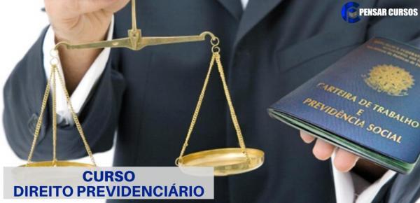 Saiba mais sobre o curso Direito Previdenciário 2019