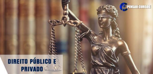 Saiba mais sobre o curso Direito Público e Privado