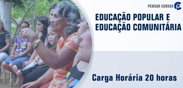 Saiba mais sobre o curso Educação Popular e Educação Comunitária