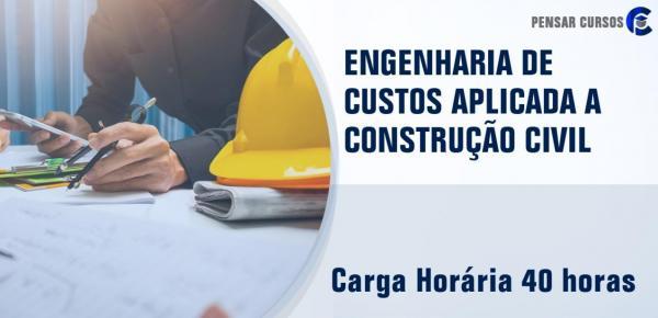 Saiba mais sobre o curso Engenharia de Custos Aplicada a Construção Civil