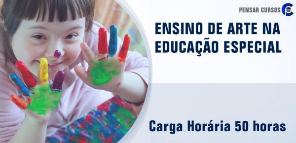 Saiba mais sobre o curso Ensino de Arte na Educação Especial