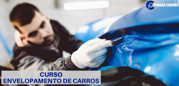 Saiba mais sobre o curso Envelopamento de Carro