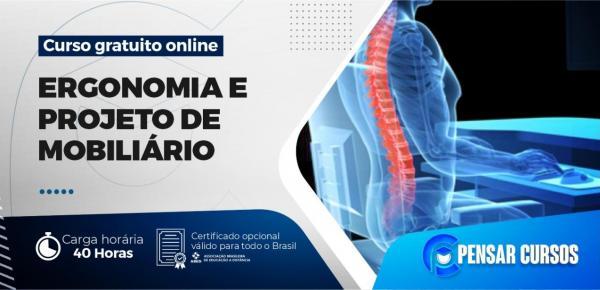 Saiba mais sobre o curso Ergonomia e Projeto de Mobiliário