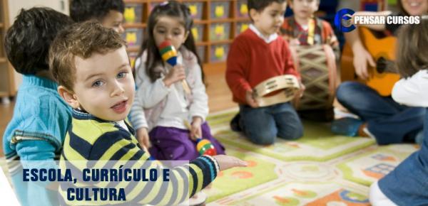 Saiba mais sobre o curso Escola, Currículo e Cultura