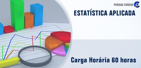 Saiba mais sobre o curso Estatística Aplicada