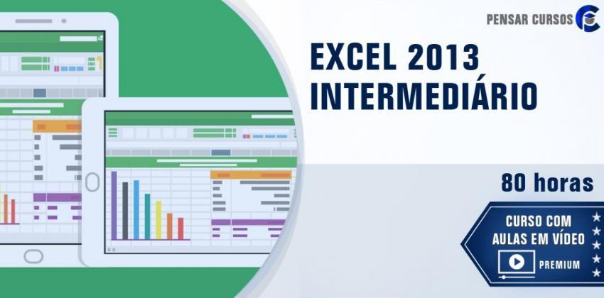 EXCEL 2013 Intermediário