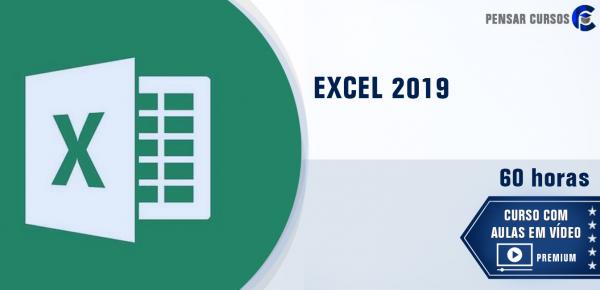 Saiba mais sobre o curso Excel 2019
