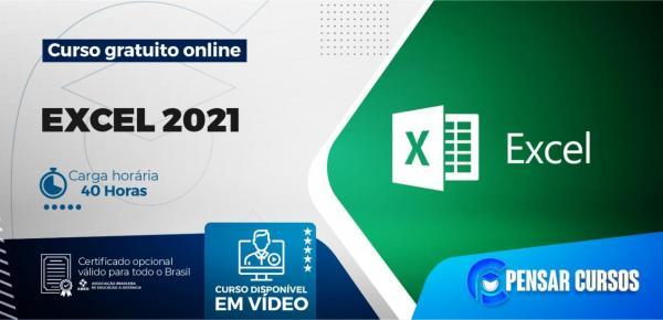 Saiba mais sobre o curso Excel 2021