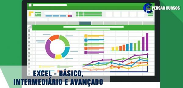 Saiba mais sobre o curso Excel Combo Básico, Intermediário e Avançado