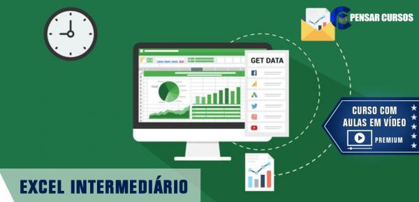 Saiba mais sobre o curso Excel Intermediário
