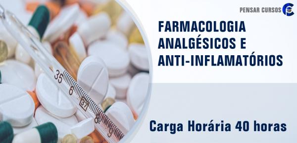Saiba mais sobre o curso Farmacologia Analgésicos e Anti-inflamatórios